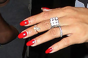 Rihanna Red Nail Polish