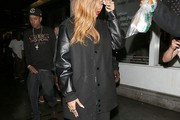 Rihanna Wool Coat