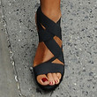 Robin Roberts Shoes - Strappy Sandals