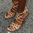 Robin Roberts Strappy Sandals