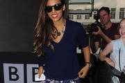 Rochelle Humes V-neck Sweater