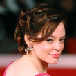 Rose McGowan Hair - Bobby Pinned updo