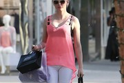 Rose McGowan Loose Blouse