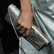 Rose McGowan Metallic Clutch