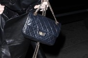 Rose McGowan Quilted Leather Bag