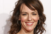 Rosemarie Dewitt Medium Curls with Bangs