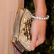 Rosie Huntington-Whiteley Gemstone Inlaid Clutch