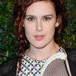 Rumer Willis Long Braided Hairstyle