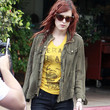 Rumer Willis Clothes - Military Jacket