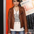 Sarah Hyland Clothes - Leather Jacket