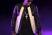 Sean Combs Leather Jacket