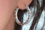 Selena Gomez Hoop Earrings