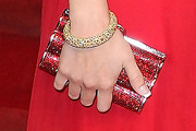 Selena Gomez Gemstone Inlaid Clutch