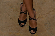 Selena Gomez Peep Toe Pumps