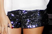Selena Gomez in Sequined Short Shorts
