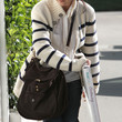 Selma Blair Handbags - Leather Hobo Bag