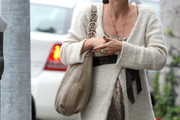 Selma Blair Leather Hobo Bag