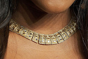Serena Williams Gold Collar Necklace