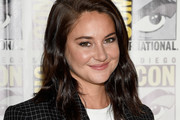 Shailene Woodley Shoulder Length Hairstyles