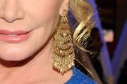Shannon Tweed Gold Chandelier Earrings