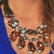 Shantel VanSanten Gemstone Statement Necklace