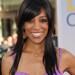 Shaun Robinson Hair - Long Wavy Cut with Bangs