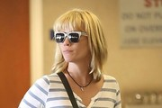 January Jones Medium Straight Cut with Bangs