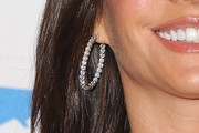 Sofia Vergara Diamond Hoops