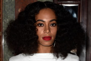 Solange Knowles Shoulder Length Hairstyles