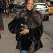 Stacey Dash Fur Coat