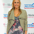 Stacy Keibler Clothes - Leather Jacket