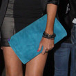 Stephanie Pratt Handbags - Suede Clutch