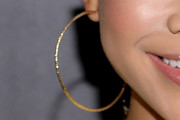 Storm Reid Hoop Earrings