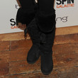 Susan Sarandon Shoes - Sheepskin Boots