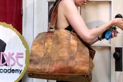 Sutton Foster Leather Tote