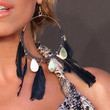 Sylvie van der Vaart Jewelry - Feathered Earring