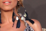 Sylvie van der Vaart Feathered Earring