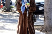 Tallulah Willis Fur Coat