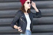 Tallulah Willis Leather Jacket