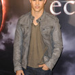 Taylor Lautner Clothes - Leather Jacket