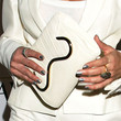 Teri Hatcher Leather Clutch