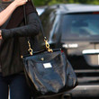 Teri Hatcher Leather Tote