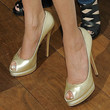 Teri Hatcher Peep Toe Pumps