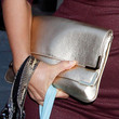 Tia Carrere Handbags - Metallic Clutch
