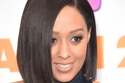 Tia Mowry Shoulder Length Hairstyles
