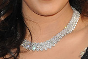 Tia Mowry Diamond Collar Necklace