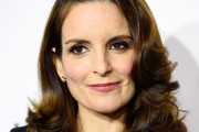 Tina Fey Shoulder Length Hairstyles