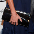 Tinsley Mortimer Leather Clutch