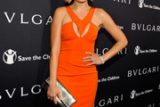 Malin Akerman Cutout Dress