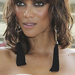 Tyra Banks Dangle Decorative Earrings